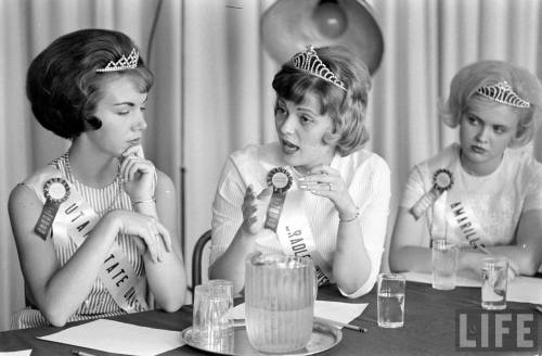 Retro beauty pageants