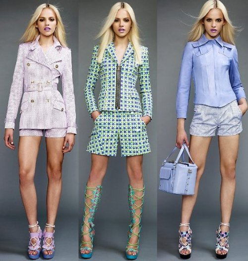 Versace, Resort Collection 2011.