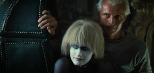 "Pris (Daryl Hannah) and Roy (Rutger Hauer) from Blade Runner (1982). ""More human than human"" is our motto."