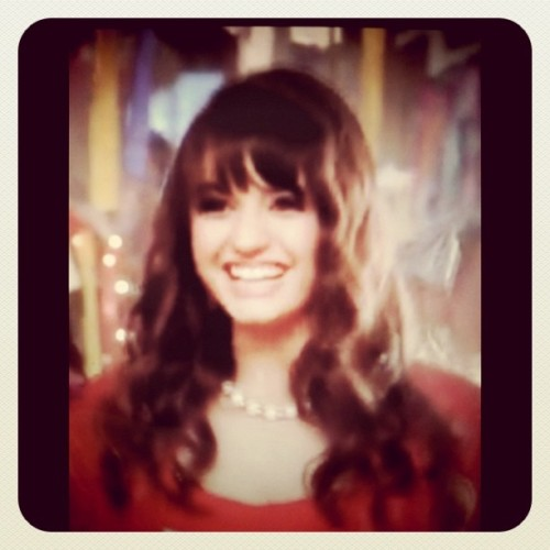 Rebecca black on #lastfridaynight #videoclip (Taken with instagram)