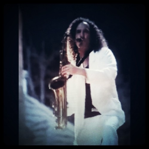 Kenny G on #lastfridaynight #videoclip (Taken with instagram)