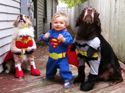 cutest. super heroes. ever.  画