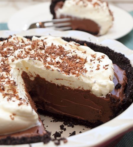 gastrogirl:  chocolate cream pie.