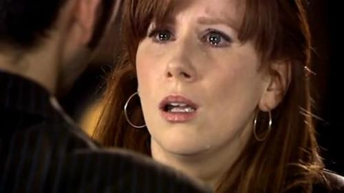 30 days of NuWho: Day# 14 Scene/moment that made you cry: When 10 has to wipe Donna's memory For full challenge list: http://tinyurl.com/3tvpf9u