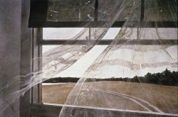 cavetocanvas:  Wind From the Sea - Andrew Wyeth, 1947