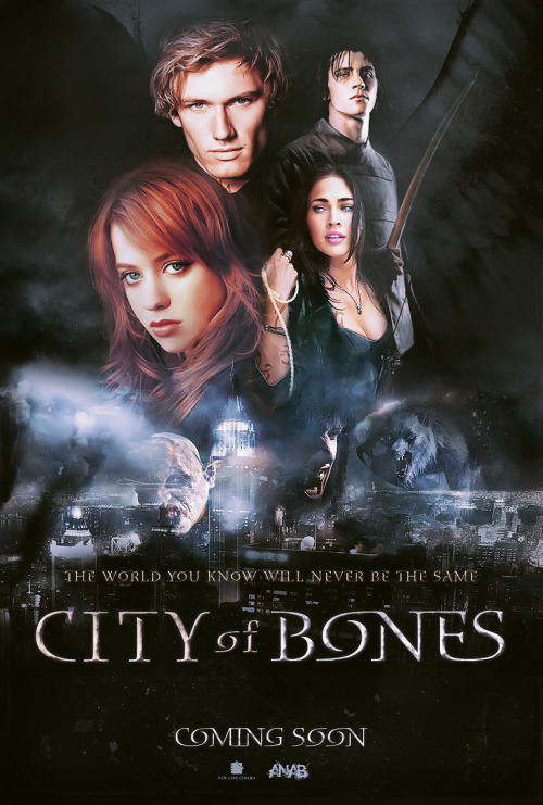 CITY OF BONES  Concept for the film adaptation of Cassandra Clare's City Of Bones (this is NOT the official casting!) - finish date: March 2010