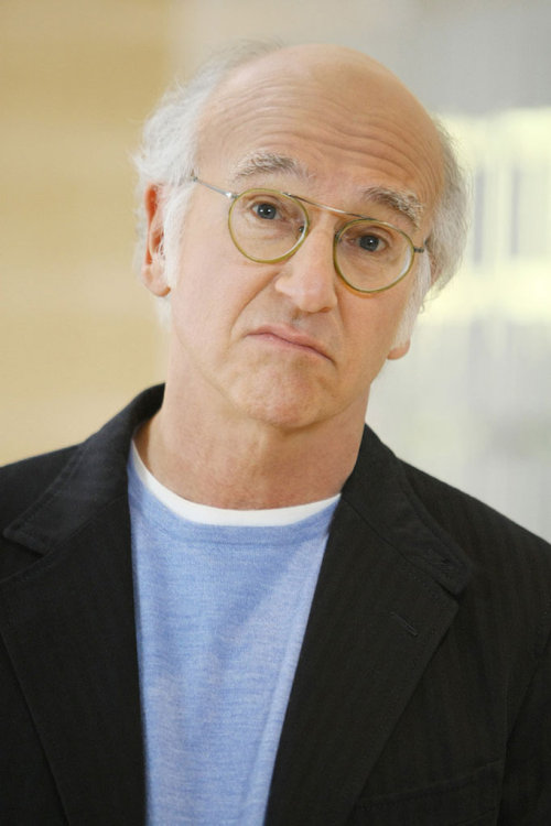 Larry David is one sarcastic and narcissistic bastard, but at least he speaks his mind.