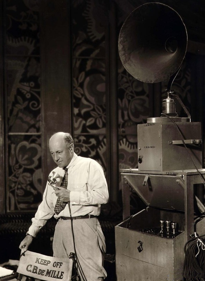 "oldhollywood:  ""Creation is a drug I can't do without."" -Cecil B. DeMille"
