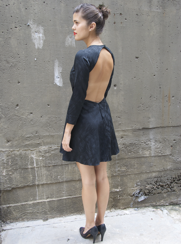 Cut Out LBD | A Pair & A Spare I'm so excited about AP&AS's LBD Series! And what a seriously cute start. As I've said before, I'm not super into going braless but I adore fashion like I adore art so I I have to share this! What a simple way to update a dress too. Believe me, if you can sew a hem, you can do this! I believe in you!
