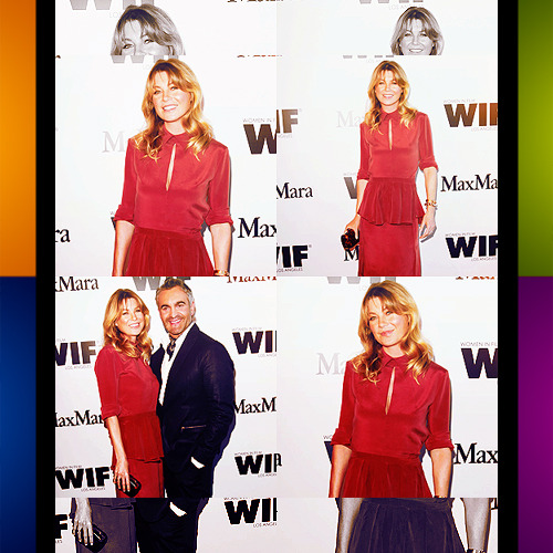 Ellen Pompeo attends a Vanity Fair and Max Mara dinner on Wednesday (June 15)