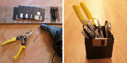 (via How To Make Your Own Floppy Disk Pen Holder | Apartment Therapy Unplggd)