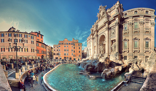 allthingseurope:  Trevi Fountain, Rome (by Lopiccolo)