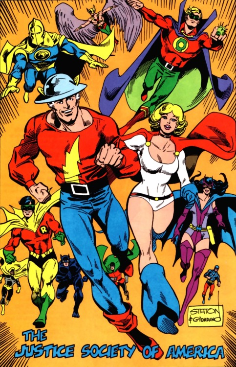 The JSA by Joe Staton and Dick Giordano