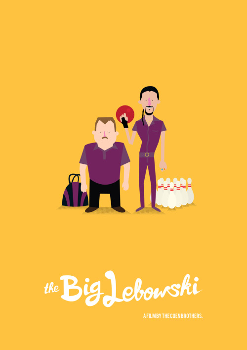 The Big Lebowski by Olaf Cuadras.