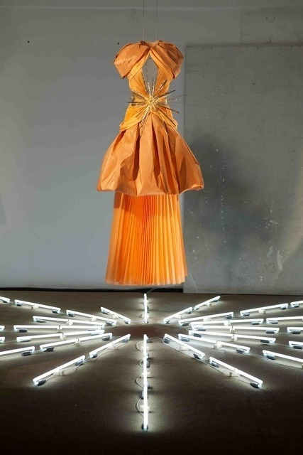 """Rodarte debuts a new 10 piece couture collection for Pitti W"" - @WmagCarolyn  Follow W editors on Twitter and Tumblr for              ongoing Pitti and Resort 2012 coverage."
