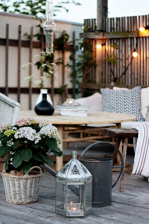 Ideal outdoor area