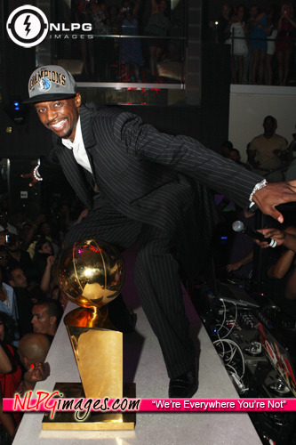 Dallas Mavericks beat the Miami Heat in Miami and party hard at LIV. Check out more photos from that night here http://bitly.com/kM17QZ