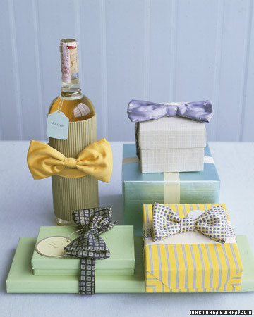 a-ladys-findings:  Father's Day Bow Tie Wrap