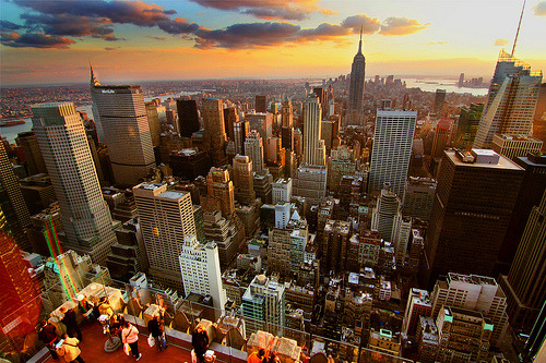 New York Sunset  (by jerryfergusonphotography)