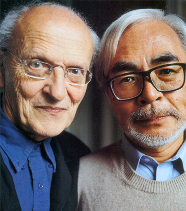 theairtightgarage:  A talk between Hayao Miyazaki and Moebius