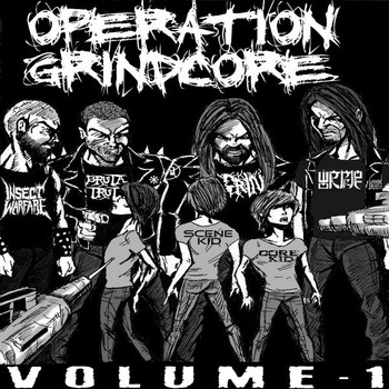 "fuckyeahgrindcore:  OPERATION GRINDCORE comp Vol. 1 is now available for download or you could pre-order the physical copy for nothing more than $3.00 through bigcartel. The comp features 24 up-and-coming sick DIY grindcore bands, one song each. Here's the track list: Gripe - ""Just Fucking Die"" Gran Toucher - ""Rubbernecker"" Unnatural Selection - ""Light of my Life"" Knifewound - ""Roadhouse Roundhouse"" Old Painless - ""Snow White and the Seven Kinds of Whore"" Scumdogs - ""Violento Ataque Cristofobico"" Inderds  - ""Shut It"" Hellterror  - ""Lawless Aggression"" Tough Luck  - ""Retrospect"" Green Terror - ""Radiation Overdose"" Gozer - ""Bring me the Head of Stephanie Meyer"" Body Hammer - ""Clawing at the Skin of God"" Enemies of Inertia - ""No Escape"" Sapraema - ""I, Lobot"" In Her Rotten Cheek - ""Rash Man's Ultimate Doom"" Grinchfinger - ""Patisserized"" Weekend Dad - ""I Got Punched in the Nose, for Sticking my Face in Other People's Business"" Bruxism - ""The Hardest Part of Throwdancing"" Robocop - ""I Hope All Your Friends Die"" Nohari - ""Swallowed (W)hole"" Diseksa - ""Nuclear Radiation is a Nightmare"" Population Reduction - ""Sausage Factory Showdown"" Infected Womb - ""Parasite"" Hiroshima Vacation - ""Visions"""