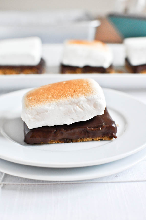 No-Bake S'mores Bars