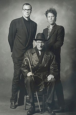 thebeathotel:  William S. Burroughs,Tom Waits & Robert Wilson