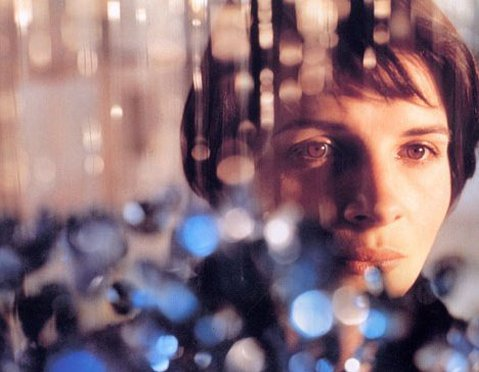 "Trois couleurs: Bleu, Krzysztof Kieslowski, 1993 ""Now I have only one thing left to do: nothing. I don't want any belongings,any memories. No friends, no love. Those are all traps."""
