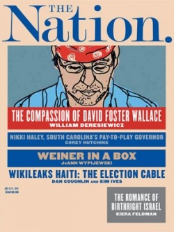 Don't miss this week's fantastic issue of The Nation— along with your favorite columnists, this edition features Dan Coughlin and Kim Ives on Haiti's rigged elections, Kiera Feldman's undercover investigative trip on Birthright Israel, Dana Goldstein asking whether or not it is necessary for everyone to attend a four year college, and much more more.
