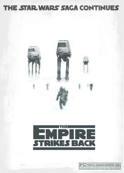 geeksngamers:  The Empire Strikes Back - by Ridd Sorensen