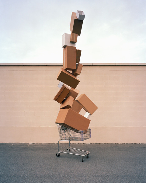 Shopping Totem, 2010 by David Welch HHS! 2011 Contender David Welch The totem pole has long had multiple purposes—to reflect cultural beliefs and storytelling, to portray artistic expression and even to publicly shame debtors. It's likely Contender David Welch was well aware of the layered reading of totem poles when he constructed and photographed a series of his own totems for his current project Material World. In the series, discarded products that are ubiquitous in mass consumerism are stacked tall and made the central focus of the images. The objects that once provided material comfort are now making apparent the excess and waste we often overlook. Read more…
