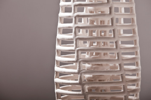 Claire Muckian: Double Walled Lattice III (detail)