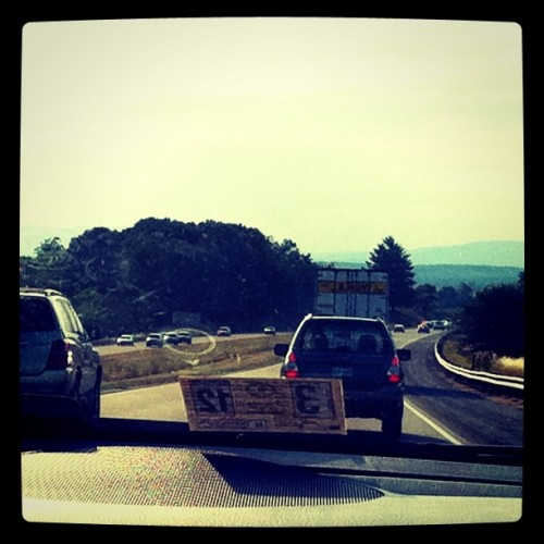 Headed into the mountains (Taken with instagram)