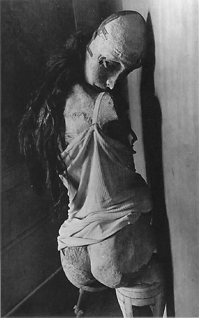 Hans Bellmer  A wonderful surrealist I came across yesterday. Hes so wonderfully weird.