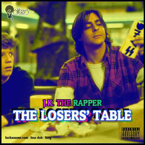 "J.K.'s last project of the year ""The Loser's Table"" mixtape (click image download)"
