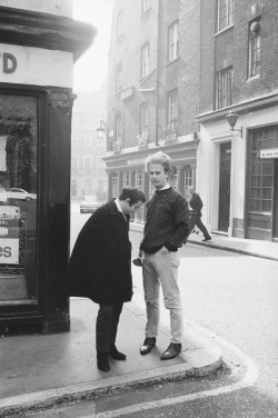 theswingingsixties:  Simon and Garfunkel.