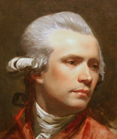 John Singleton Copley, Self-Portrait, 1780-1784.