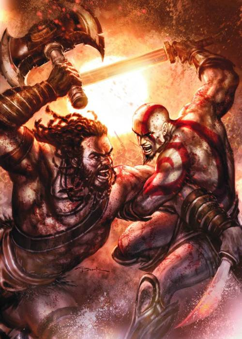 God of War #5 by Andy Park