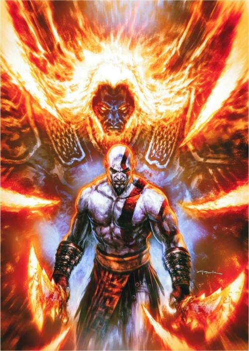 God of War #6 by Andy Park