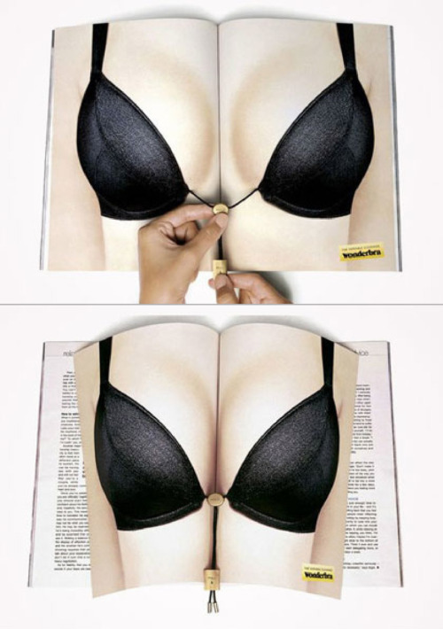 Wonderbra magazine ad