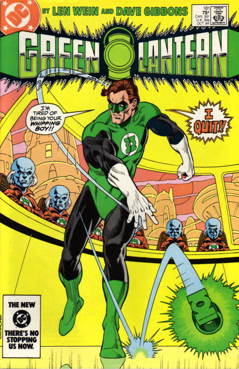 evilhorse:  Green Lantern (Volume 2) #181, October 1984.  Cover by Dave Gibbons.