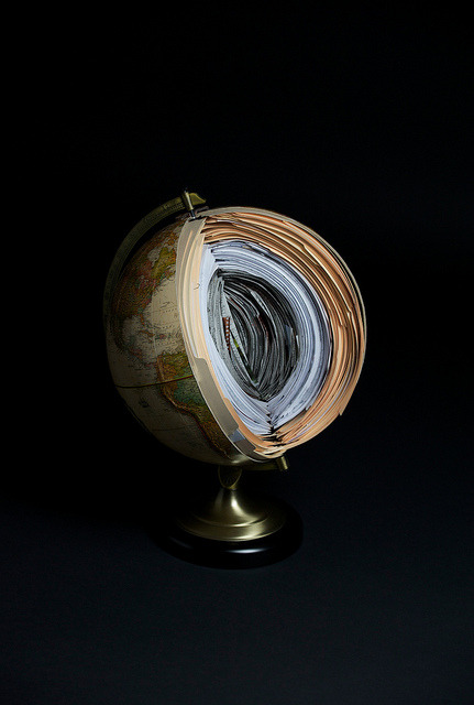 brockdavis:  Globe Piece for Wired magazine for an article about transparency.