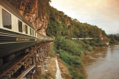 The famed Orient Express – one of the most luxurious trains, which runs between Thailand, Singapore, and Malaysia (via Orient Express - one of the most luxurious train | Travelet)