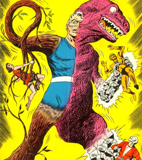 Animal-Vegetable-Mineral Man versus The Doom Patrol.