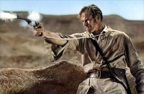 "Charlton Heston in ""Khartoum"" as General Charles Gordon"