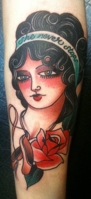 - Jessica Swaffer Third eye tattoo