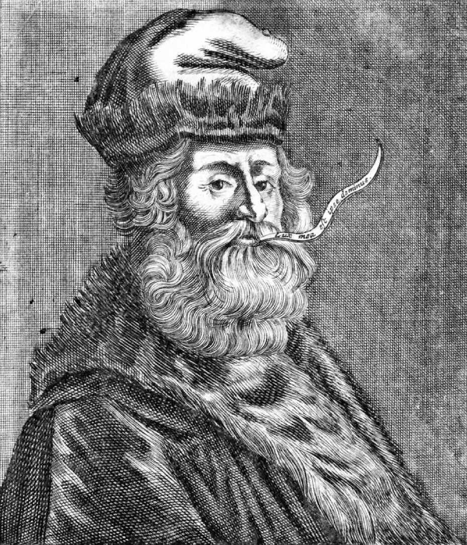 Ramon Llull/Raimundus Lullus, 1315. Unknown artist.