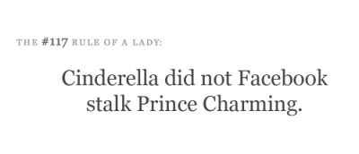 Yeah! Because he was PRINCE FUCKING CHARMING! not a sleezy sketchy lying asshole…