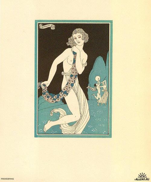 Proserpine ~ Georges Barbier, 1923 via