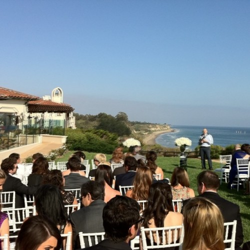 Let the wedding begin! (Taken with Instagram at Bacara Resort & Spa)